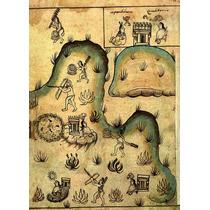 Lienzo Tela Códice Historia Tolteca Chichimeca Pag 43 México