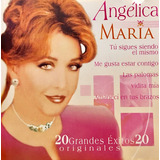 Cd Angelica Maria 20 Grandes Exitos Originales