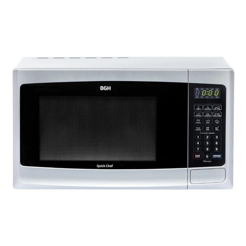 Microondas Grill BGH Quick Chef B223DE plata 23L 220V