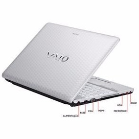 Notebook Sony Vaio Vpc-eh40eb/w Intel Core I3-2370m, 4gb, Hd