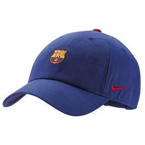 Gorra Nike Fc Barcelona Azul 74060 100% Original + Envio 316e4769417