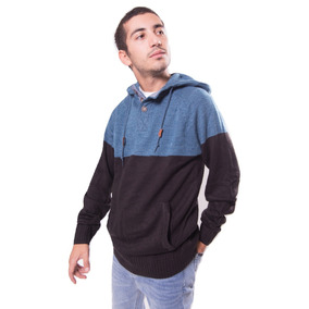 Super Outlet Sweater Maui Revamp Negro Para Hombre