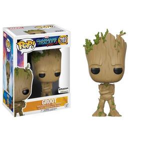 Groot - Pop! Funko Marvel Vingadores Infinity War Galáxia