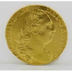Valiosa Moneda Coleccion Georgius Iii 1775 Oro Macizo
