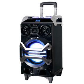 Caixa De Som Amplificadora Bluetooth 200w Rms Amvox - Aca252