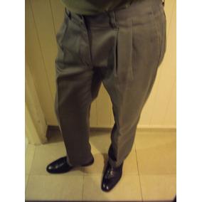 Pantalón Casual/vestir Gris. Lee Usa 32x30 Ancho 43 Cm