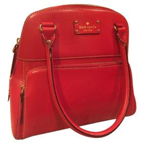Bolso Kate Spade New York Rojo Nuevo Bolsillo Exterior