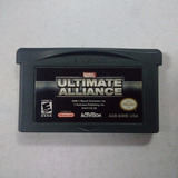 Ultimate Aliance Para Gameboy Advanced Usado 10/10