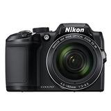 Cámara Digital Nikon Coolpix B500 (negra)