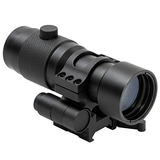 Ncstar 3x Magnifier W/flip To Side Quick Release Mount, Blac