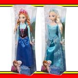 Duas Bonecas Disney Frozen - Elsa + Anne - Mattel