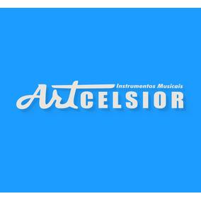 Pandeiro 12 Art Preto - Artcelsior