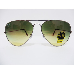 Lentes Ray Ban Aviador Rb3025 004 2f 62mm Verde Degradado 8bf7243554