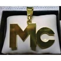 Pingente Mc Banhado A Ouro, Ostentação, Funk
