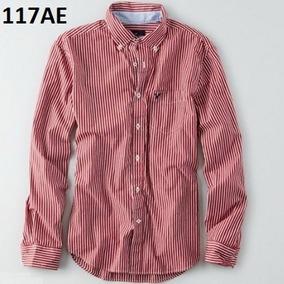 M, L- Camisa American Eagle C117ae Ropa Hombre 100% Original