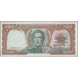 Uruguay 5.000 Pesos Nd1967 P50b Serie C