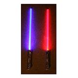 Lote De 2 Star Wars Sound Fx Sable De Luz Light Saber Espad