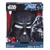 Star Wars Mascara Eletronica Muda Voz Darth Vader Hasbro