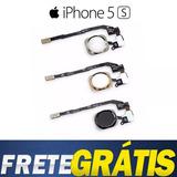 Botão Home Iphone 5s A1453, A1457, A1518, A1528 Sem Digital
