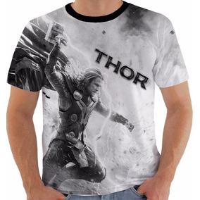 Camiseta Thor 2 Super Heroi Vingadores Avengers Marvel Pb
