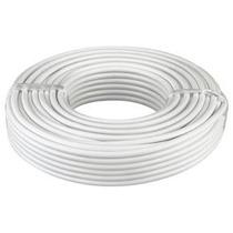 Cable Coaxial Rg6 De 100 Mts Para Tv, Antena, Camaras