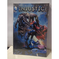 Injustice Gods Among Us: Año 1 Vol.2 Y Año 3 Vol.1 Def.