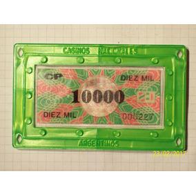 Ficha De Casino Plaquetas A Elección Cada Una $ 95 (3 X 250)