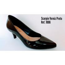 Salto 33 Calçados - Scarpin Estilo Arezzo - Frete Grátis