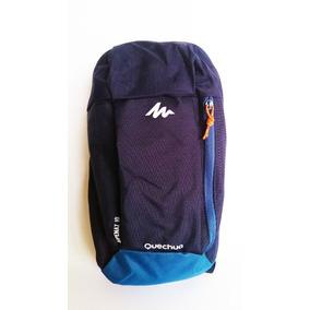 2 Mochilas Quechua Apernaz - 10 Litros - Color Azul Y Negro