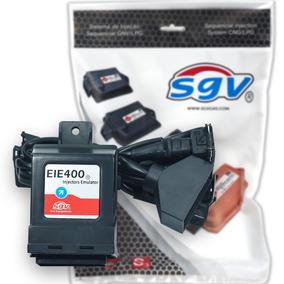 Emulador De 4 Bicos Sgv Eie400 Com Chicote Cabo Original Gnv