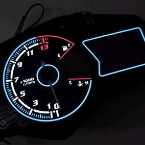 Acetato Do Painel Com Iluminação Led Yamaha R3 Mt-03