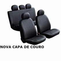 Jg Capa Banco De Couro Ecológico Omega Grosso Qualidade