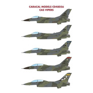 Decalque Caracal Decal 1/48 F-16 Cas Vipers 48056