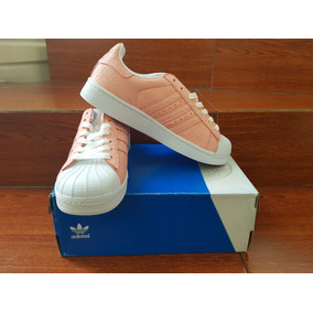 Envió Gratis !! adidas Superstar Color Salmón !!