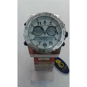 Relógio Atlantis Rip Curl Cortez A3228 Metal Prata