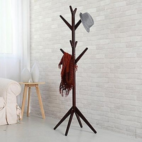 69,3 Hall Árbol Percheros, Sombrero 4-tier Estante Ropa