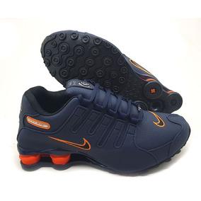 Nike Shox Feminino 38 - Tênis Azul escuro no Mercado Livre Brasil 78fa3fa864573