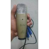 Microfono Condensador C-1u .lo Vendo Por Q No Lo Reconoce Pc