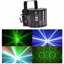 Efecto Power Derby Tecshow 30 W Rgbw Y Laser Control Remoto