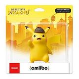 Amiibo Detective Pikachu Nuevo Sellado Original Importado !!