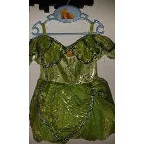 Disfraz De Niñas Campanita De Disney