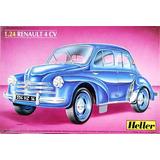 Renault 4cv Maqueta Heller Escala 1/24 Para Armar La Plata