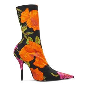 Balenciaga Botas Floral Print Únicas