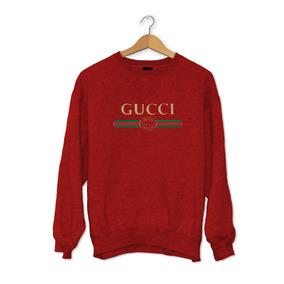 Blusa Moletom Careca - Gucci - Grife