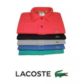 Camisa Polo Kit Promocional Com 5 Camisas Tamanhos Especiais b34a2bce177