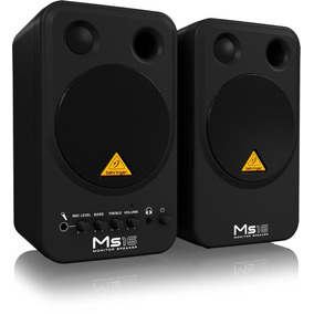 Kit Monitor De Áudio Behringer Ms16 16 Watts De Potência