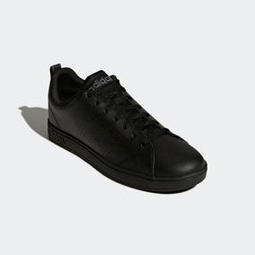 Tenis adidas Para Hombre Advantage Clean Vs Negro Originales