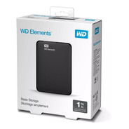 Disco Duro Externo 1tb Wd Elements + Oferta + Envío Gratis