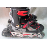 Rollers Kappa Abec 7 Extensible Talle 33-36 Aluminio
