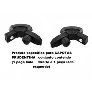 Cantoneira Nylon P/capota Prudentina Mod. Encaixe (2pç)pc158
